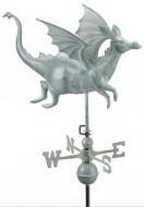 Copper Dragon Weathervane outdoor shed hardware