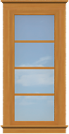 TR3 Traditional Full Length Window (Fixed)