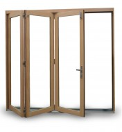 White Oak / Rift Cut Oak Bi-fold Door Panel
