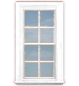 WV-C2A Single Hung Window